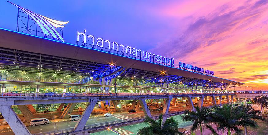 Flughafen Bangkok Ankünfte