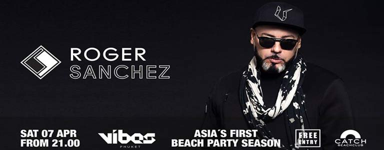 Roger Sanchez at Catch Beach Club