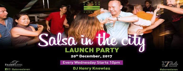 Salsa in the City at Above Eleven Bangkok