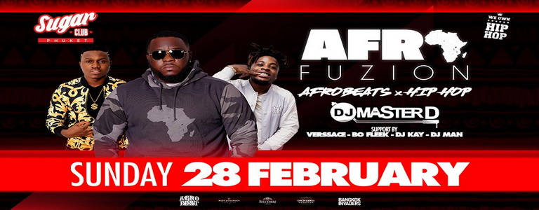 Sugar Pres. AfroFuzion with DJ Master D