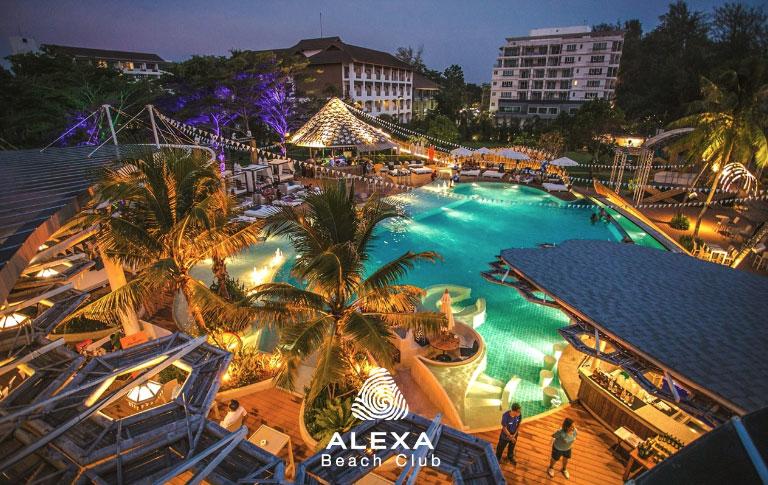 New Year Eve Ultimate Bikini Party Alexa Beach