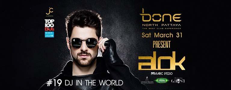 Bone Pattaya Present DJ ALOK