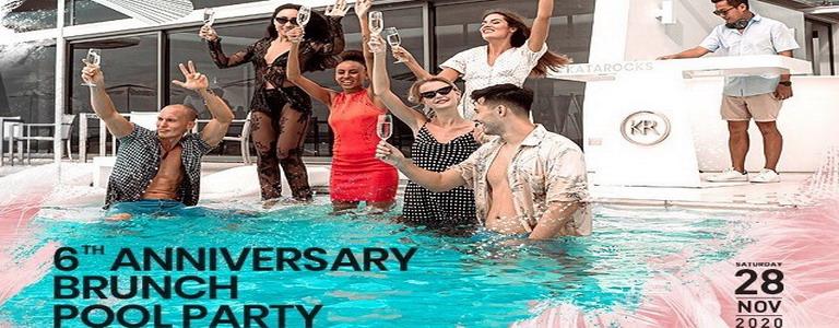 Kata Rocks Anniversary Brunch Pool Party
