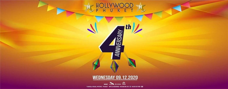 Hollywood 4th Year Anniversary