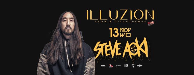 Steve Aoki at Illuzion Phuket