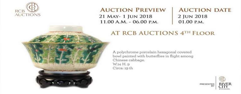 Auction Preview at River City Mall