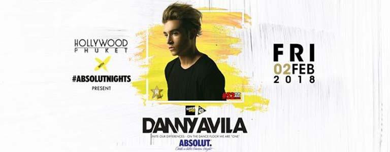 Danny Avila at Hollywood Disco Club Phuket