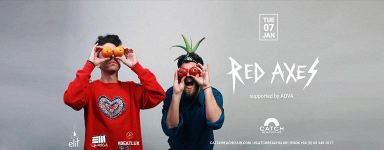 Red Axes at Catch by Sound Addiction