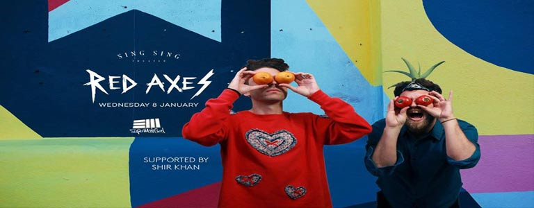 Red Axes at Sing Sing Theater