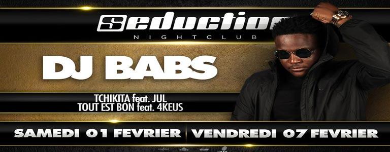DJ Babs au Seduction Night-Club