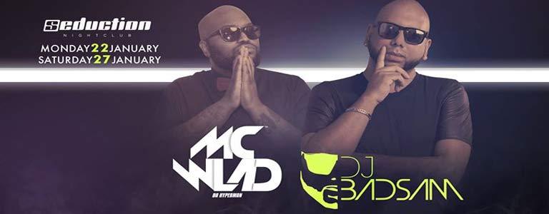 Mc Wlad & Dj Badsam live at Seduction Phuket