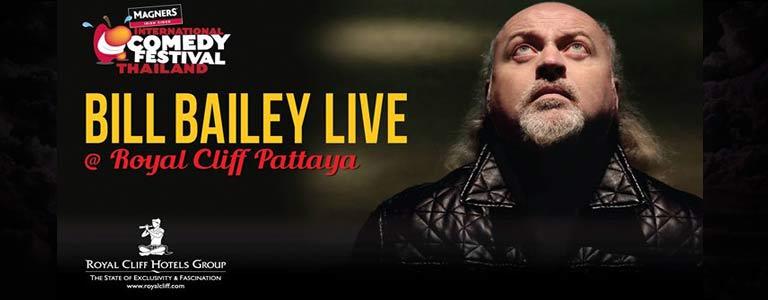 Bill Bailey live at Royal Cliff Hotel