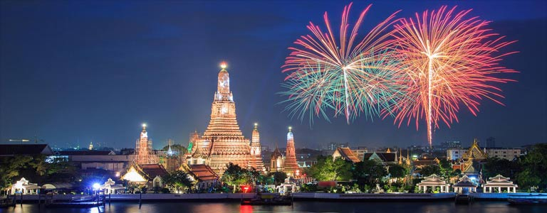 Image result for bangkok new years