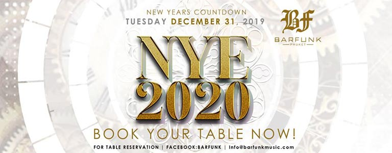 New Years Countdown at Barfunk