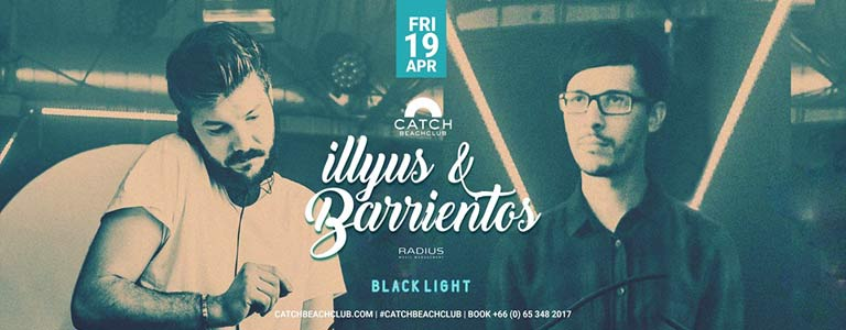 Illyus & Barientos at Catch Beach Club