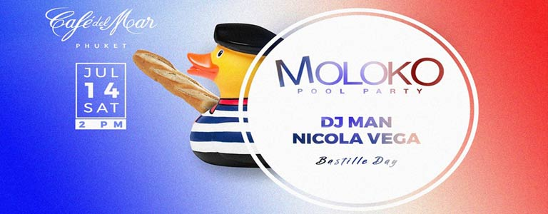 "Moloko Pool Party "" Bastille Day """