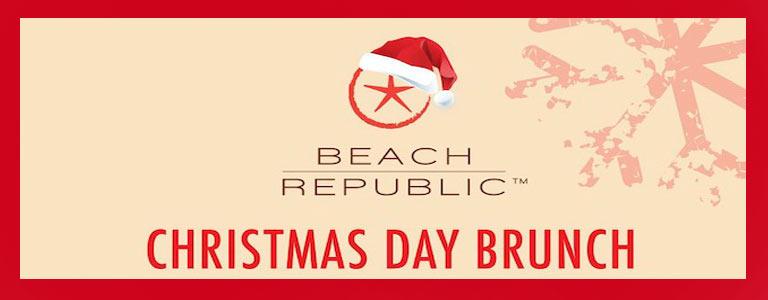 Christmas Day Brunch Beach Republic