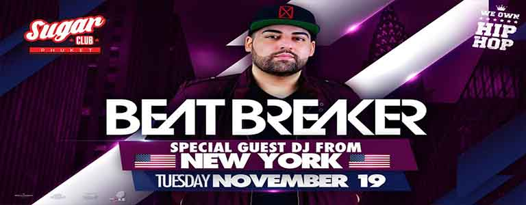 Sugar Phuket invites BeatBreaker
