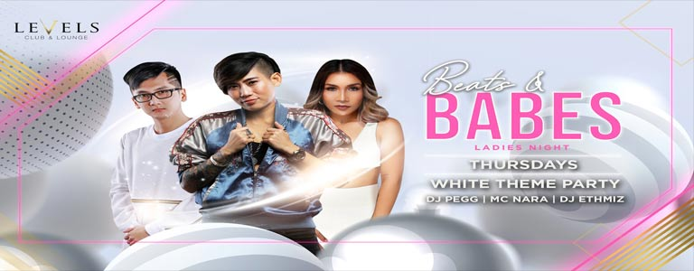 Beats & Babes White Party Edition at Levels