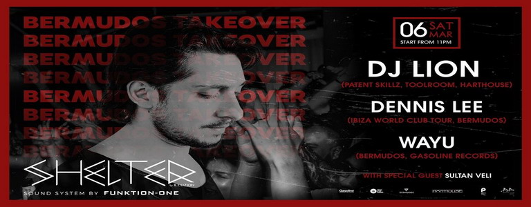 Bermudos Takeover with DJ LION at Shelter