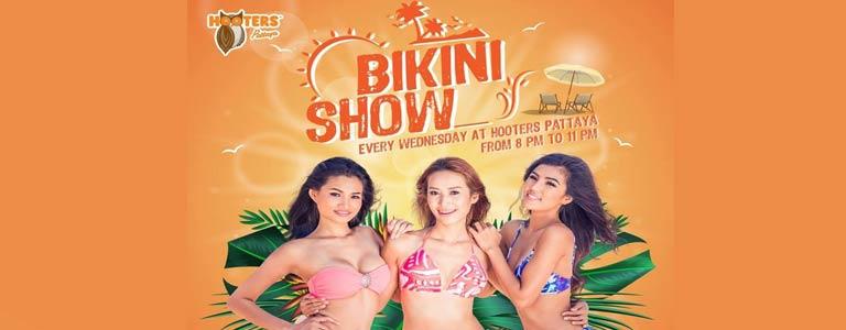 Hooters Pattaya presents Bikini Show Wednesdays