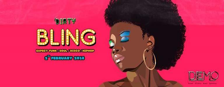 Dirty bar presents BLING at Demo Disco Club Bangkok