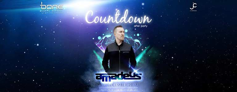 Bone Pattaya present Countdown After Party with DJ Amadeus