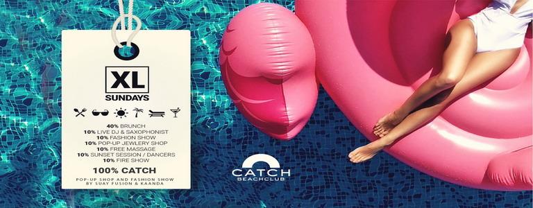 XL SUNDAYS & BRUNCH at Catch Beach Club