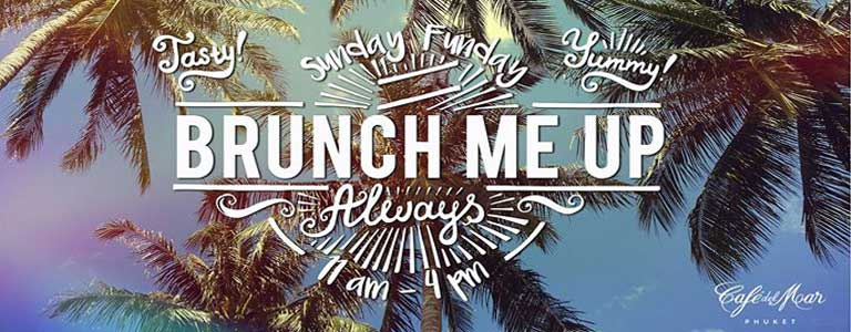 Sunday Brunch at Cafe del Mar Phuket