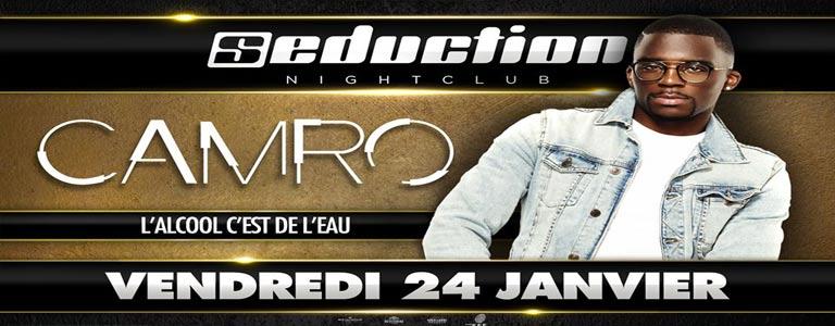 Camro en Live au Seduction Night-Club