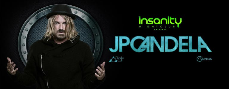 JP Candela at Insanity Nightclub