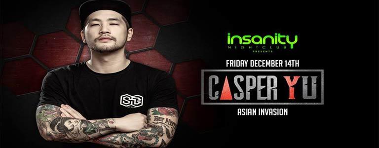 Insanity Nightclub Presents Casper Yu