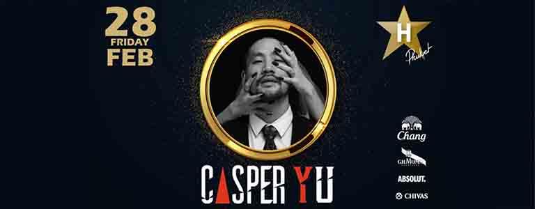 Casper Yu Live at Hollywood Phuket
