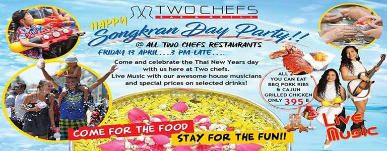Two Chefs Songkran Day Party
