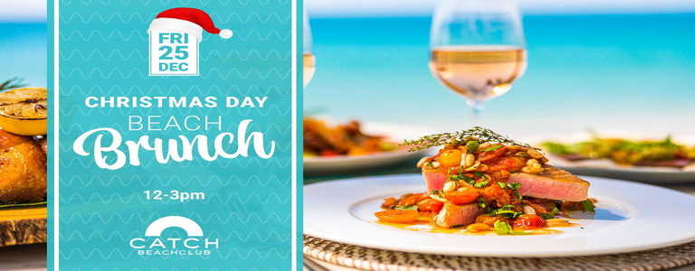 Christmas Day Beach Brunch at Catch