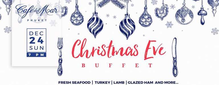 Christmas Eve Buffet Dinner at Café del Mar