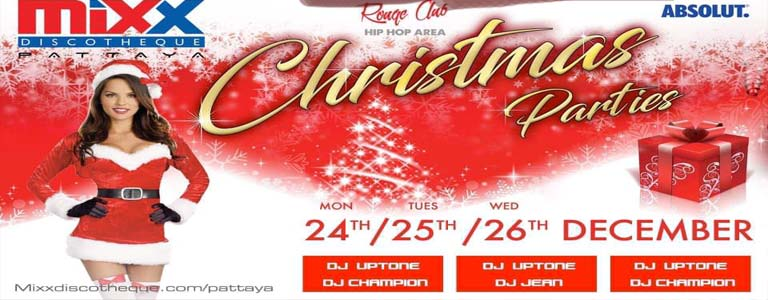 Mixx Pattaya presents Christmas Parties