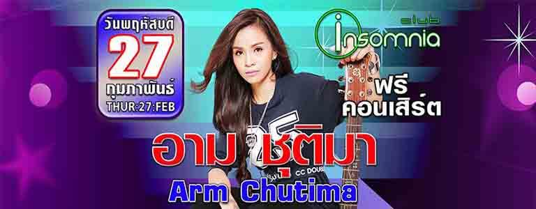 Arm Chutima Live at Club Insomnia