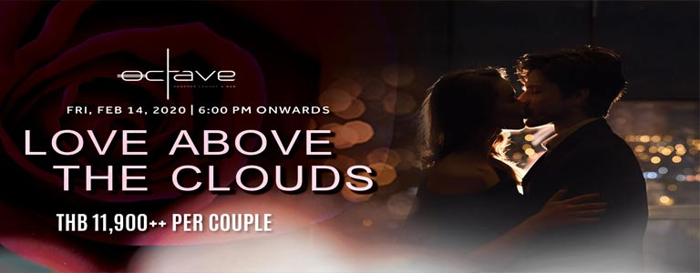Love Above the Clouds at Octave Rooftop Lounge & Bar