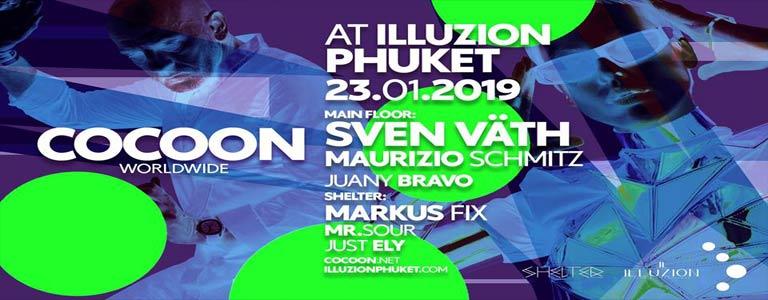Cocoon Phuket w/ Sven Väth, Maurizio Schmitz, Markus Fix