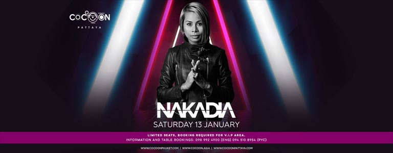 Nakadia at Cocoon Pattaya