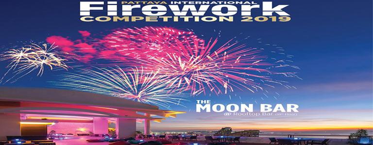 Pattaya International Fireworks Festival 2019 at Centara Grand Mirage