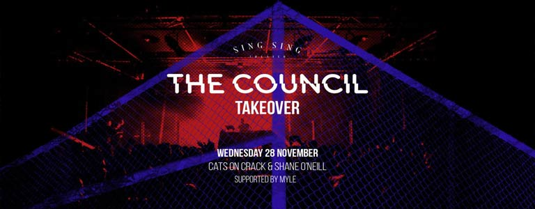 Sing Sing Theater presents The Council Takeover