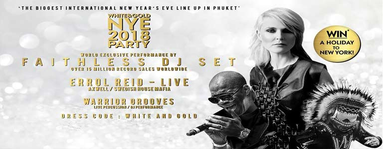 White & Gold NYE Countdown Party at Dream Beach Club