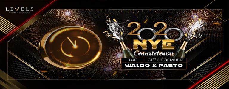 NYE Countdown 2020 at Levels Club & Lounge