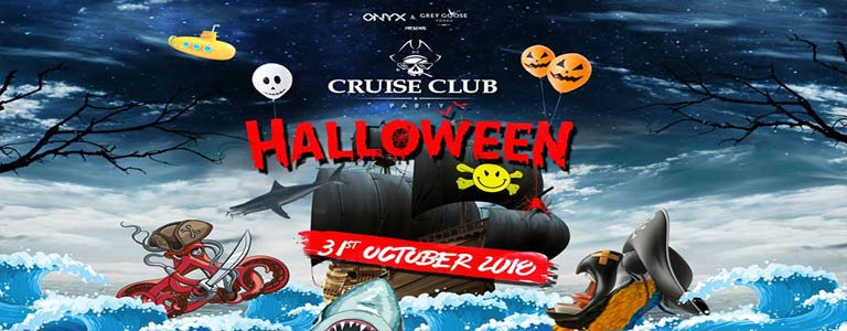 ONYX & Grey goose pre. Cruise Club Halloween Party - Blasterjaxx