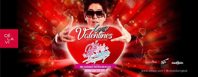 Valentines Crush Wednesday February 14th at CLV BKK