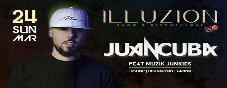 Juan Cuba at Illuzion