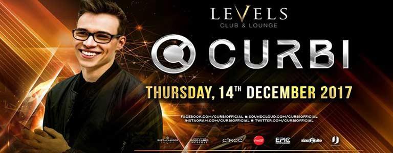 CURBI at Levels Club Bangkok