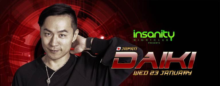 Japan Nights with DJ DAIKI at Insanity